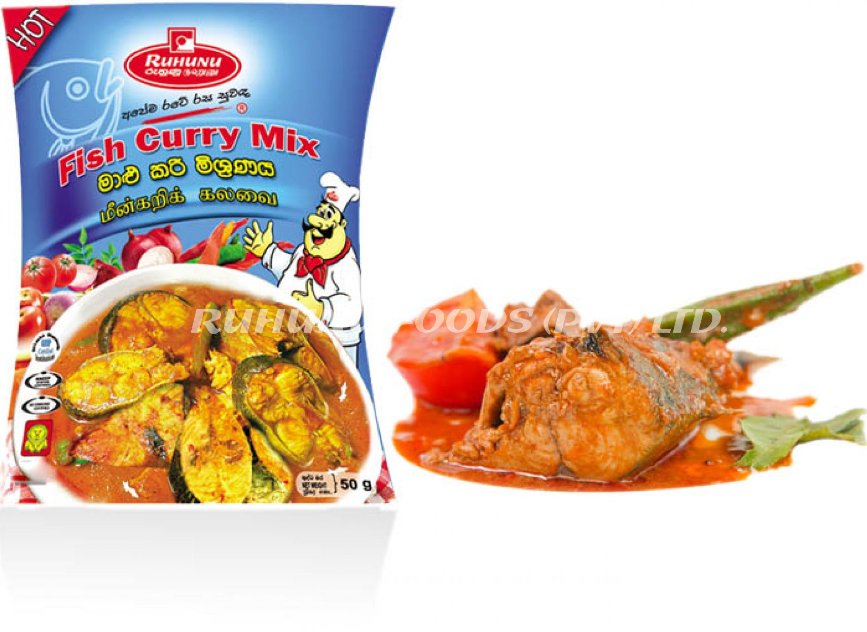Ruhunu Fish Curry Mix